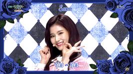 Music Bank 181109 Sana 2
