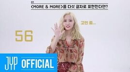 "TWICE ""MORE & MORE"" 60 Seconds Speed Interview MOMO"