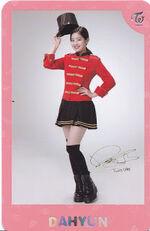 TWICEland Encore Concert Photocard Dahyun 7