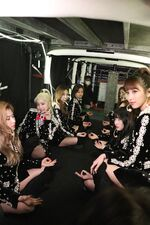 Twice Dome Tour 2019 Tokyo Dance Performace Backstage Twice 2
