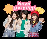 Twice Line Stickers Nayeon, Momo, & Jihyo