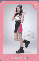 TWICEland Encore Concert Photocard Dahyun