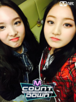 Nayeon and Jihyo M Count Down 2
