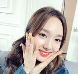 Nayeon 110517 IG Update