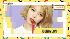 Music Bank 180427 Jeongyeon