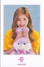 TT Japan Photocard Dahyun