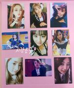Twice-broadcast-signal-photocards