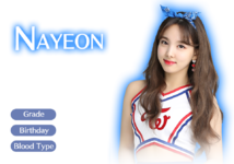 Twice GO! GO! Fightin' Character Nayeon