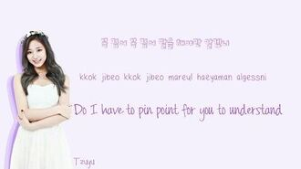TWICE - Hold Me Tight Lyrics (Han Rom Eng) Color Coded