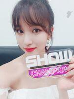 Show Champion 180718 Mina
