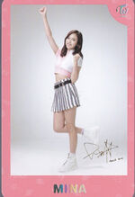 TWICEland Encore Concert Photocard Mina 3