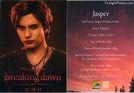 Jasper breaking dawn