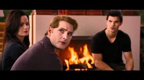 NEW Twilight Breaking Dawn Jacob tells the Cullens about Sam