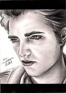 Robert Pattinson by crayon2papier