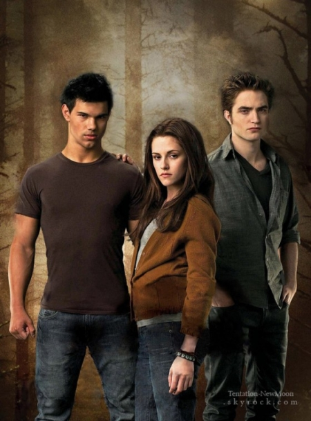 Twilight Saga New Moon Poster Art Jpg