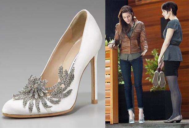 Image bella swan wedding shoes manolo blahnikg twilight bella swan wedding shoes manolo blahnikg junglespirit Choice Image