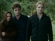 Edward, Bella and Carlisle