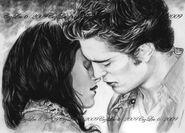 Near Kiss at Twilight by CezLeo