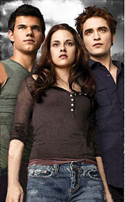 Edward, Bella andJacob 3