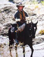 Jasper a cavallo