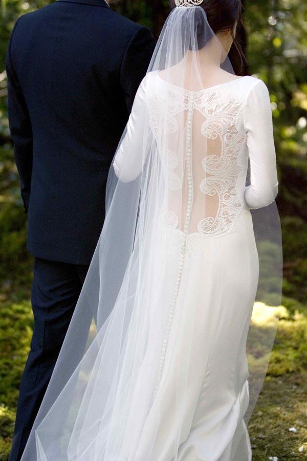 Twilight Breaking Dawn Bella Swan Wedding Dress 2 Jpg