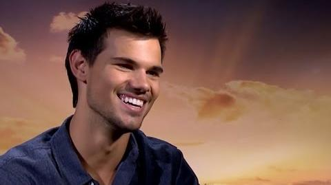 Taylor Lautner Talks Kristen Stewart Fight, Reboot & Upcoming Movies - Breaking Dawn Part 2 Junket-0