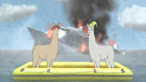 Llamas with Hats 1 - 4