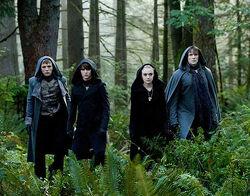 Eclipse Volturi line -up; Felix, Jane, Alec, Demetri