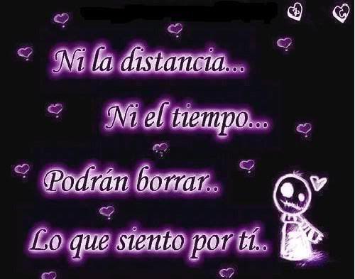 Image Ni La Distancia Ni El Tiempo Imagenes De Amor Con Frases Jpg
