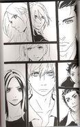 Twilight manga cullan family