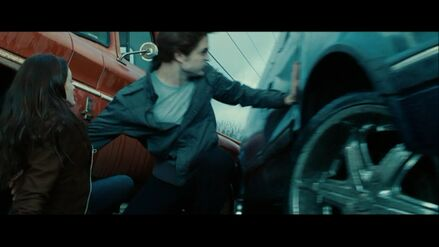 Edward-stops-car