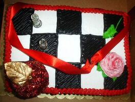 Birthday cake-twilight.