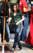 Kristen Stewart - Set of New Moon