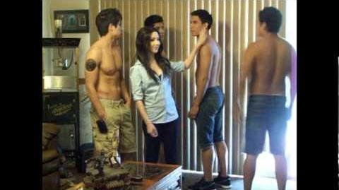 """QWP - The Hillywood Show's """"Eclipse Parody"""" Wolf Pack Shoot Behind-the-Scenes - Part One"""