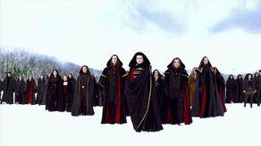Volturi's army
