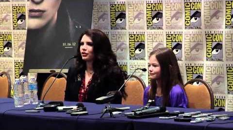 Breaking Dawn Part 2 Comic Con 2012 Panel 3 - Robert Pattinson, Kristen Stewart, Taylor Lautner