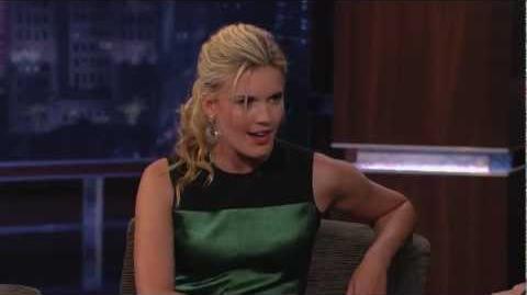 Maggie Grace on Jimmy Kimmel Live PART 1