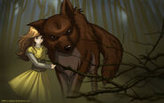 Renesmee and Jacob by Juhani