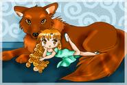 Renesmee and Jacob by SilverYouko300