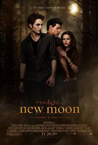 The Twilight Saga- New Moon poster