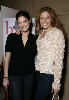 Image - Ashley Greene & Rachelle Lefevre jpg | Twilight Saga