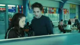 When Bella and Edward talks in Lunch room