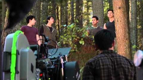 NEW RELEASE Twilight Breaking Dawn Behind-the-Scenes Footage