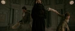 Félix, Démétri et Aro exécutent un criminel