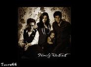 Edward, Bella, Jocab and Rennesme
