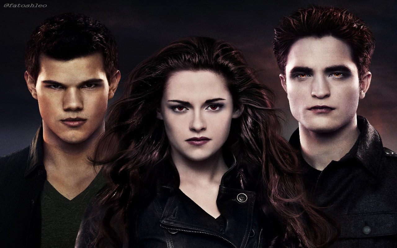 Breaking Dawn Part 2 HD Wallpapers Three Characteres