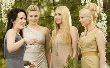 Tanya, Kate, Irina et Esmée