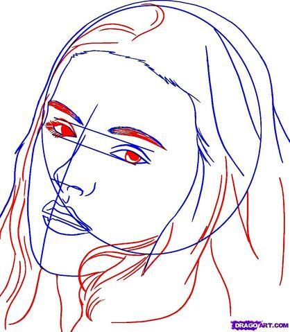 filehow to draw bella swan from twilight