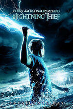 Percy Jackson & the Olympians The Lightning Thief poster