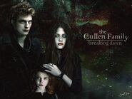 Edward, Bella and Rennesme